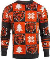 Forever Collectibles NFL Mens 2016 Patches Ugly Crew Neck Sweater
