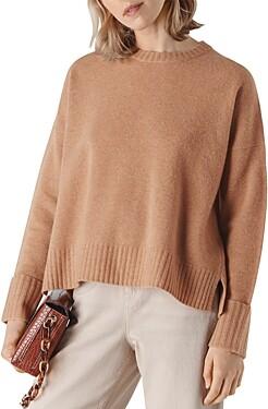 Whistles Merino Wool Pullover Sweater