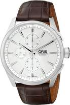 Oris Men's 67476444051LS Artix Analog Display Swiss Automatic Brown Watch