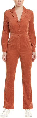 Emory Park Shawl Neck Jumpsuit