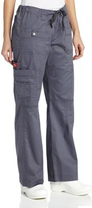Dickies Women's Plus GenFlex Cargo Scrubs Pant