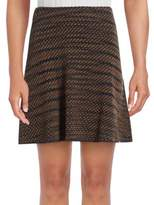 M Missoni Textured Wool Blend Mini Skirt