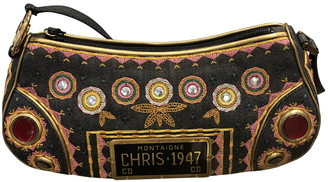 Christian Dior Multicolour Denim - Jeans Clutch bags