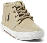 Ralph Lauren Little Kid Faxon Ii Mesh Mid Sneaker