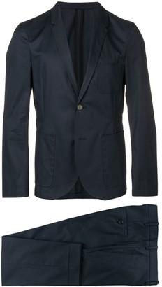 Neil Barrett buttoned up formal suit