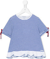 Simonetta frill hem T-shirt - kids - Cotton/Polyamide - 4 yrs