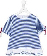 Simonetta frill hem T-shirt - kids - Cotton/Polyamide - 6 yrs