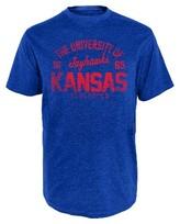 NCAA Kansas Jayhawks Men's Heather T-Shirt