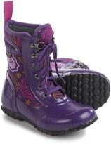 Bogs Footwear Sidney Posey Insulated Rain Boots - Waterproof, Lace-Ups (For Little Girls)