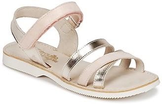 Citrouille et Compagnie IDORILLE girls's Sandals in Beige