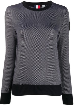 Rossignol Knitted Two Tone Jumper