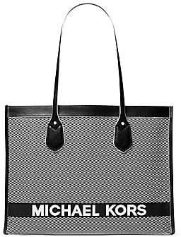MICHAEL Michael Kors Women's Large Ew Jacquard Cotton Tote