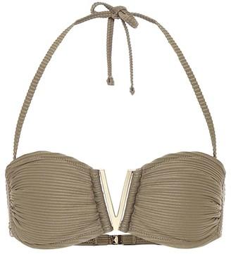 Heidi Klein Venice V-bar bandeau bikini top