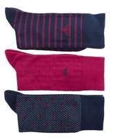 Emporio Armani Boxed 3 Pack All Over Logo Socks