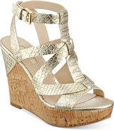 GUESS Women's Harlea Wedge Sandals