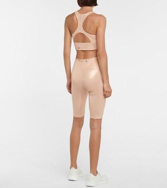 adidas by Stella McCartney Shine compression shorts