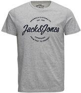 Jack and Jones Printed Regular Fit Cotton Tee