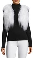 Adrienne Landau Mongolian Lamb Fur Vest