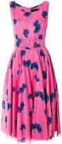 Samantha Sung printed belted waist dress