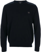 Paul & Shark branded jumper - men - Acrylic/Virgin Wool - L