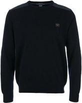 Paul & Shark branded jumper - men - Acrylic/Virgin Wool - M