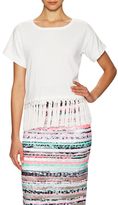 Milly Cotton Braided Fringe Top