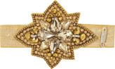 Pink Pewter Gold Star Elastic