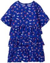 Crazy 8 Floral Ruffle Dress