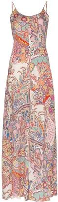 Etro Paisley Wide Leg Jumpsuit