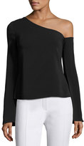 Rachel Zoe Mia One-Shoulder Top, Black