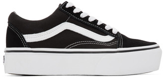 Vans Black Old Skool Platform Sneakers