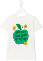 Mini Rodini Apple T-shirt - kids - Organic Cotton/Spandex/Elastane - 3 yrs