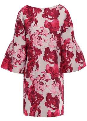 Badgley Mischka Brocade Mini Dress