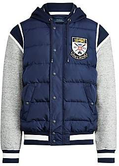 Polo Ralph Lauren Men's Down-Paneled Baseball Jacket