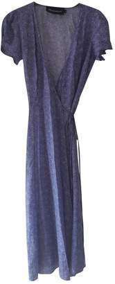 Réalisation Realisation Teale Purple Silk Dresses