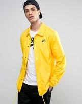 Nike Sb Coach Jacket In Yellow 829509-719