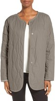 Nordstrom Women's Quilted Collarless Jacket