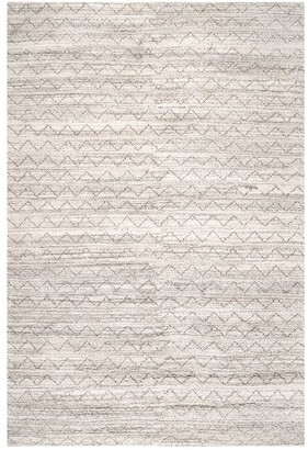 nuLoom Alexi Chevron Hand Knotted Wool Wool Rug