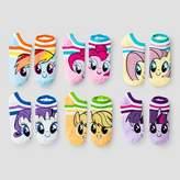 My Little Pony Kids' 6-Pack No-Show Socks