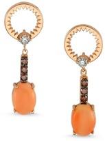 Selda Jewellery Catch You Coral Earring