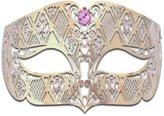Luxury Mask Diamond Design Laser Cut Venetian Masquerade Mask