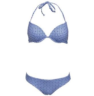 Board Angels Womens Bikini Blue