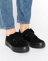 Blink Flatform Plimsole Sneaker