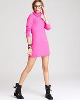 Cashmere Turtleneck Dress - Long Sleeve