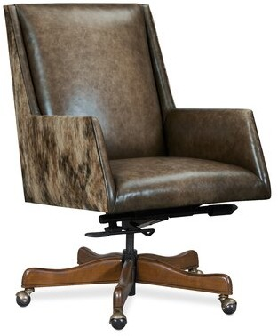 Hooker Furniture Rives Genuine Leather Executive Chair