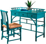 One Kings Lane Eastbrook Desk and Chair Set, Turquoise