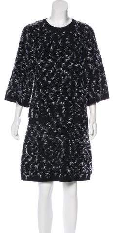 Chanel Wool & Cashmere Sweater Dress