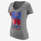 "Nike 2016 World Series ""Goggles"" Tri-Blend (MLB Cubs) Women's T-Shirt"