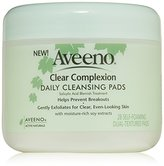 Aveeno Active Naturals Clear Complexion Daily Cleansing Pads, 28 Count