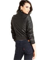 Levi's Jacket, Faux-Leather Bomber